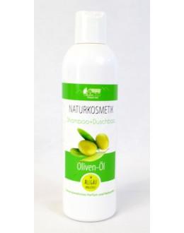 Olivový šampon na vlasy a tělo s olejem 250ml