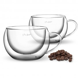 Sada sklenic cappuccino 2ks