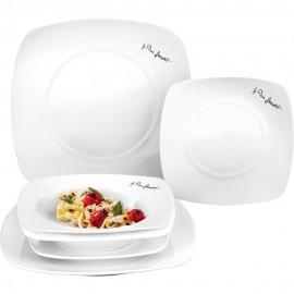 Sada hranatých talířů Dine Lamart