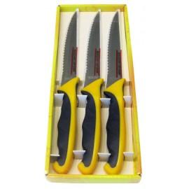 Sada nožů na steak -set 3ks